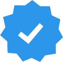 ceklis biru terverifikasi