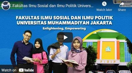 video profile FISIP-UMJ eduNitas