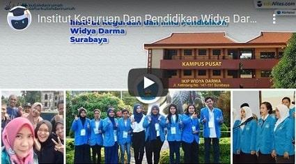 video profile IKIP-Widya-Darma eduNitas
