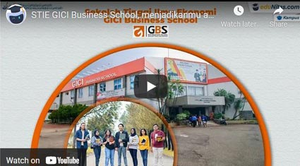 video profile STIE-GICI-Bekasi eduNitas