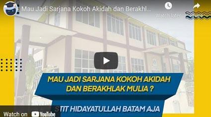 video profile STIT-Hidayatullah eduNitas