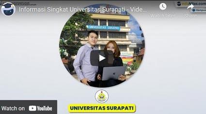 video profile Universitas-Surapati-Jakarta eduNitas