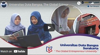 video profile UDB eduNitas